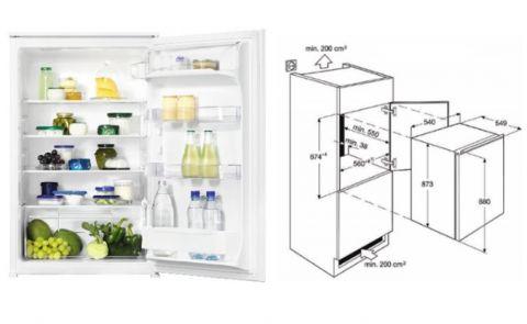 FOUCHARD - Réfrigérateur FAURE FBA 15021 SA