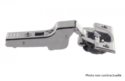 FOUCHARD - Charnière CLIP TOP porte en semi-applique sans ressort