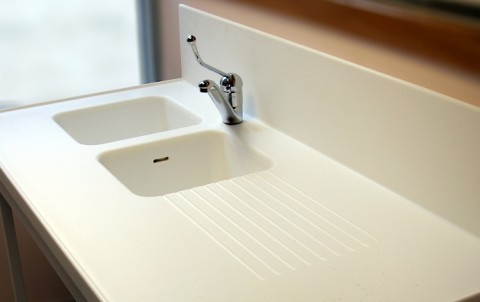 FOUCHARD - Plan de toilette Solid Surface