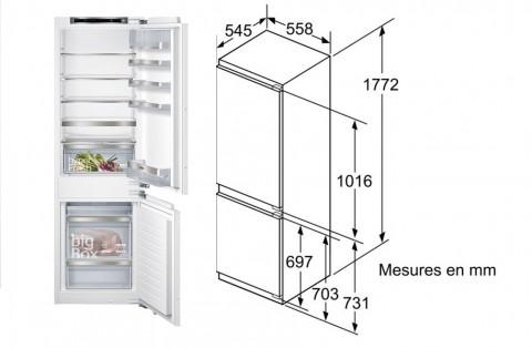 FOUCHARD - Réfrigérateur SIEMENS KI 86 SAD 30